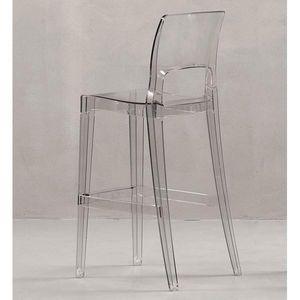 Mathi Design - tabouret transparent easy - Barstuhl