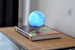 MAGNETIC LAND - atlas universel et globe en lévitation - Zimmerbrunnen