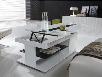 Atylia - table basse design - Klappbarer Couchtisch