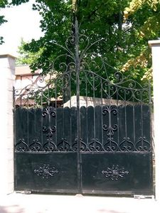 La Forge  de La Maison Dieu -  - Gartentor