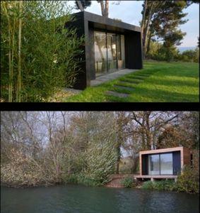 Ikos -  - Holzhaus