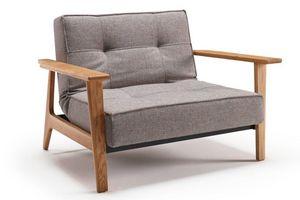 INNOVATION - fauteuil splitback frej gris mixed dance convertib - Sessel