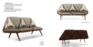 SINGURAN FOLIO - ambiente - Sofa 3 Sitzer