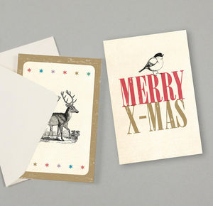 SUSI WINTER CARDS - merry little x-mas - Weihnachtskarte