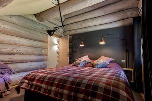Amdeco - -montagne-.: - Innenarchitektenprojekt Schlafzimmer