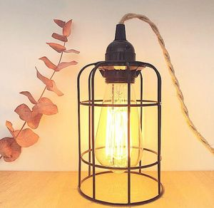 AN°SO - lampe cage - Handleuchte