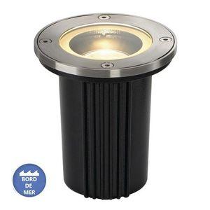 SLV - lampe extérieur encastrable dasar inox 316 ip67 d1 - Einbau Bodenspot