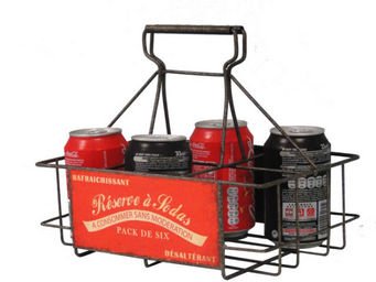 Antic Line Creations - panier rangement 6 canettes - Flaschenträger