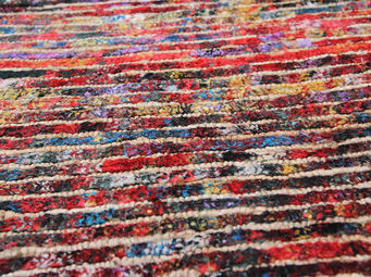 Bausol - sari stripes - Maßgefertigter Wandteppich