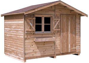 Cihb - abri de jardin en pin 15 mm d'épaisseur uno - Holz Gartenhaus