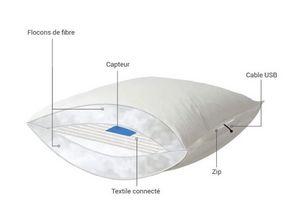 ADVANSA -  ix21 smart pillow - Verbundenes Kopfkissen