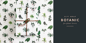 ALL THE WAYS TO SAY - botanic - Packpapier