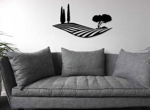 Generative-lab - paysage de toscane-- - Wanddekoration