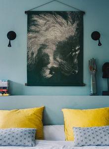LES MATURINS - le lion - Wandteppich