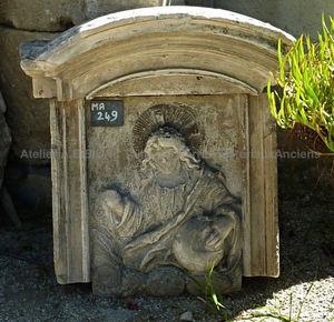 LES MEMOIRES D ADRIEN Alain Edouard Bidal - jésus - Skulptur