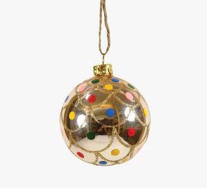 MY LITTLE DAY - boule polka pois - Weihnachtskugel