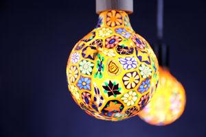 NEXEL EDITION - flower power - Led Glühbirne Mit Glühfaden