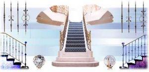 Kensington Spirals -  - Gerade Treppe