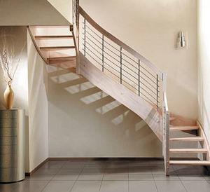 Eba -  - Zweimal Viertelgewendelte Treppe