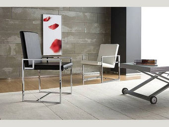 Meublesetobjets - chaise look en métal - Sessel