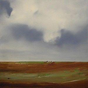 www.maconochie-art.com -  cows - Ölgemelde Auf Leinwand Und Holztafel