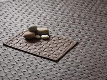 Sur-Naturel - revêtement sol cuir natté - Leder