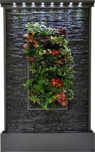 ETIK&O - mur d'eau végétal - Bepflanzte Wand