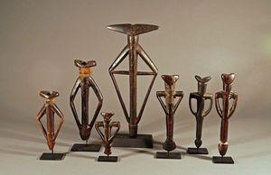 Galerie Olivier Castellano - flutes mossi - Flöte