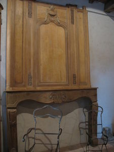 Catherine Fleuraux Materiaux Anciens -  - Offener Kamin