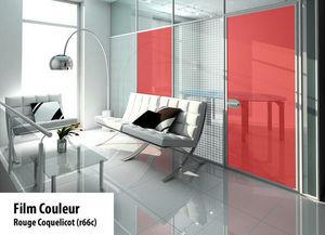 Variance store - rouge coquelicot - Sichtschutzfolie