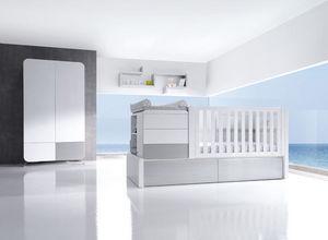 ALONDRA - konver kurve silver - Modular Bett