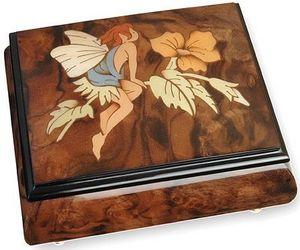 Ayousbox - boîte à musique felitsa - avec compartiment à bagu - Spieluhr