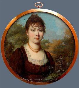 ELLE SHUSHAN - continental portrait miniatures - Porträt