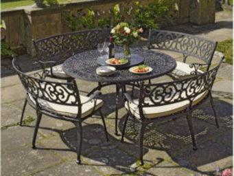 Nova Garden Furniture - cast aluminium offers - Gartengarnitur