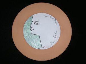 SYLVIA POWELL DECORATIVE ARTS - beatrice - Deko Teller