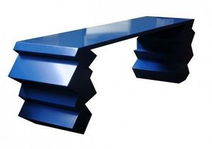 Exsud - table bleue - Wandtisch
