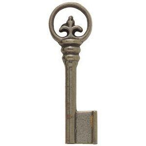 FERRURES ET PATINES - ebauche de clef en fonte style renaissance - Möbelschlüssel