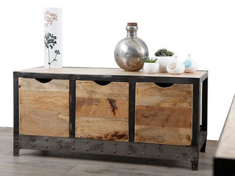 Miliboo - atelier buffet small - Hoches Anrichte