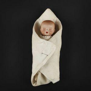 Expertissim - bébé allemand à tête caractérisée. - Puppe