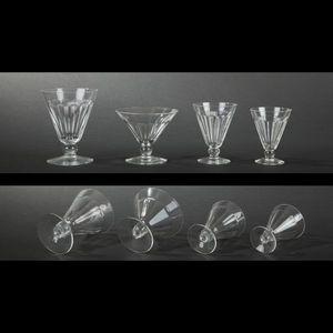 Expertissim - val saint lambert. partie de service de verres en  - Gläserservice