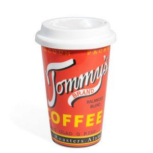 Maisons du monde - mug coffee shop rouge - Mug