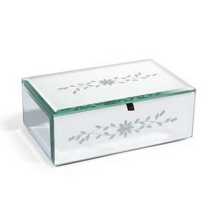 Maisons du monde - boîte à bijoux miroir - Schmuckkästchen