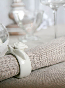 Escapades Champetres - lin - Tisch Serviette
