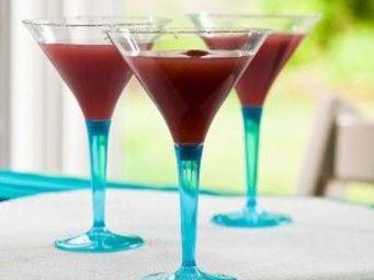 Adiserve - verre cocktail 7cl, pied couleur par 12, 5 coloris - Einwegglas