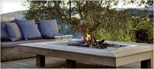 MOBEX / Le Mobilier d'Exception -  - Tisch Mit Feuerstelle