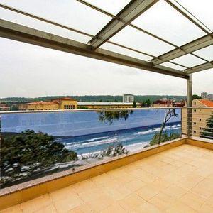 PRISMAFLEX international - brise-vue terrasse corsica 5m - Hecke