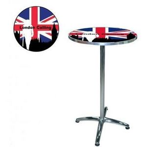 International Design - table de bar london calling - Bistrotisch