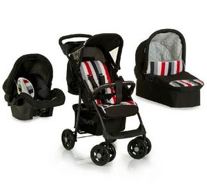 HAUCK - shopper trio set + sige auto groupe 0 + landau sou - Buggy