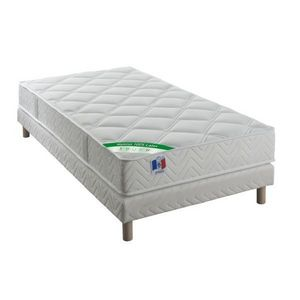 ECO LITERIE - ensemble matelas virgile 100% latex + sommier - Bettwäsche