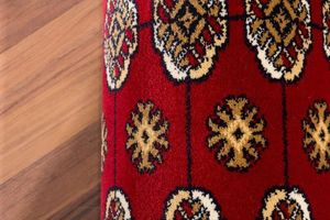 NAZAR - tapis hayat 120x170 red - Traditioneller Teppich